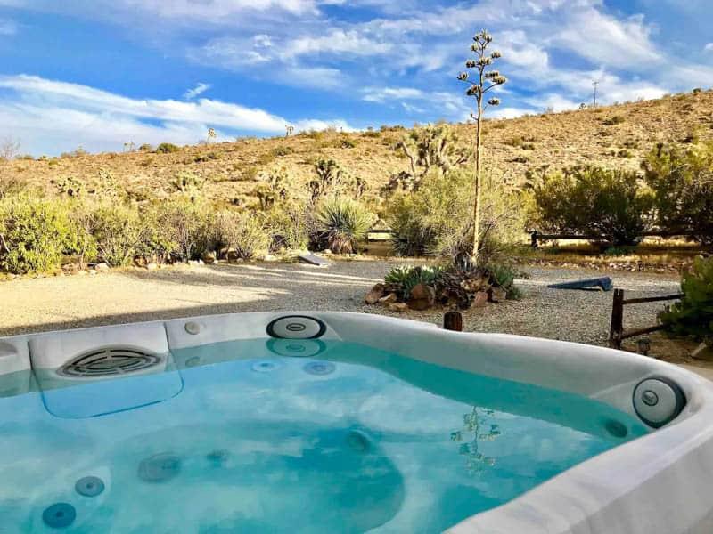 Yucca Valley Airbnb Backyard