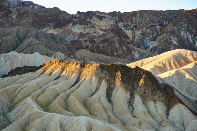 Zabriskie Point Death Valley National Park California
