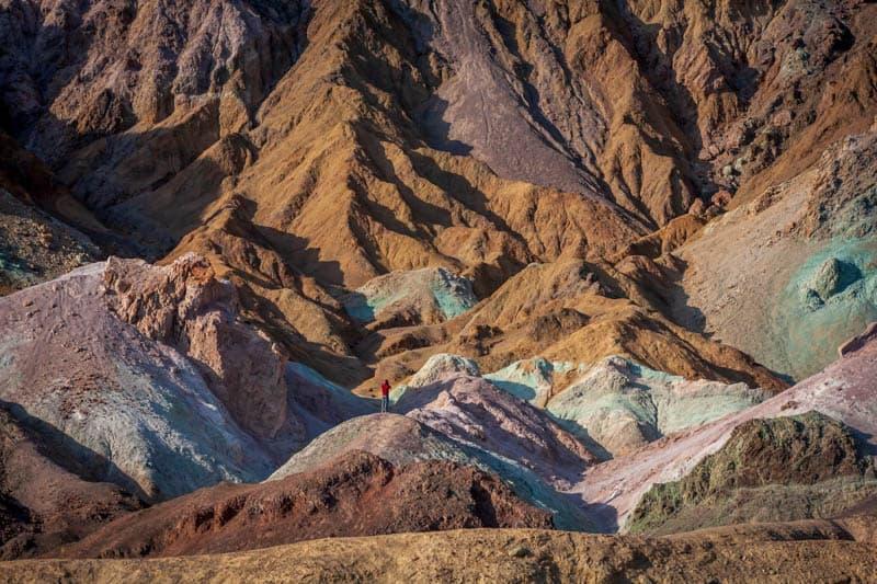 Artist's Palette in Death Valley National Park California