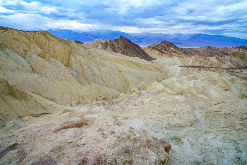 The Badlands Loop is one of the best Death Valley hikes you can do!