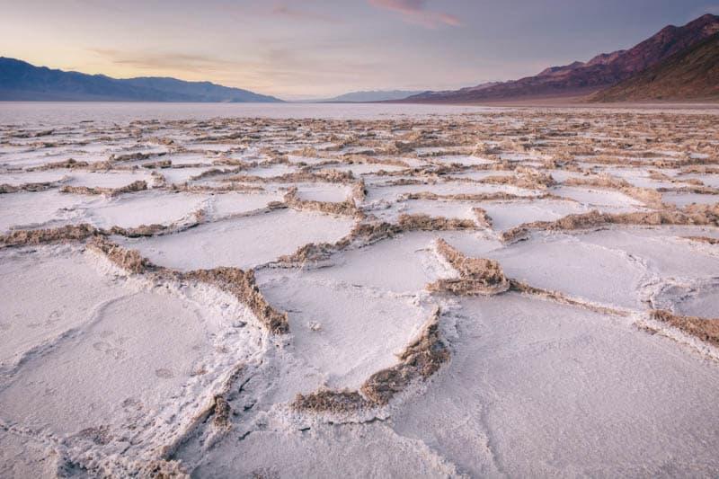 Badwater Salt Flat Death Valley California