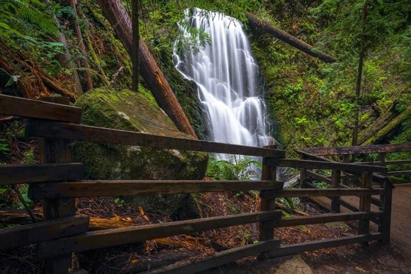 Berry Creek Falls in Big Basin Redwoods State Park California