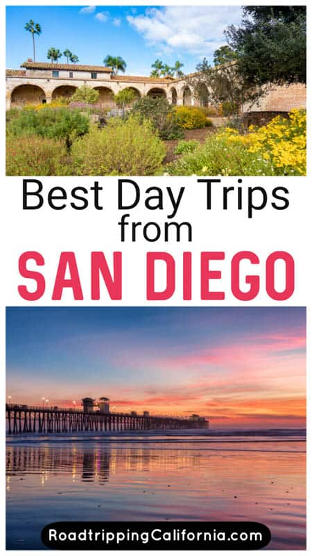 Discover the most exciting day trips from San Diego California! Explore beautiful beaches and cool cities, desert parks and mountain towns on day outings from San Diego.