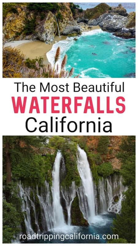 Discover the most beautiful waterfalls in California to put on your itinerary, from McWay Falls in Big Sur to Burney Falls in eastern California and the mighty waterfalls of Yosemite National Park!
