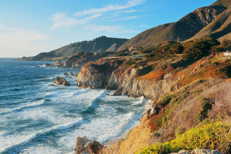 Big Sur is one of the most romantic places in California, perfect for a couples getaway