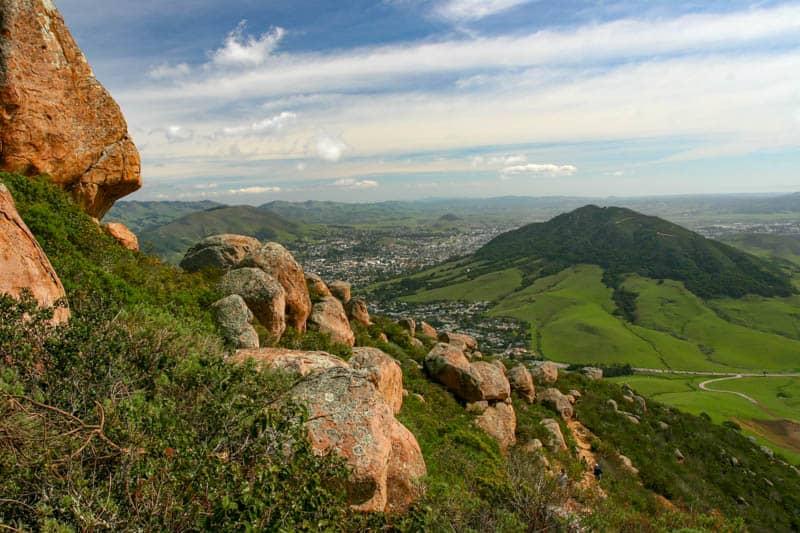 View from Bishop Peak SLO California