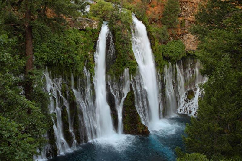 Burney Falls is the most beautiful waterfall in California