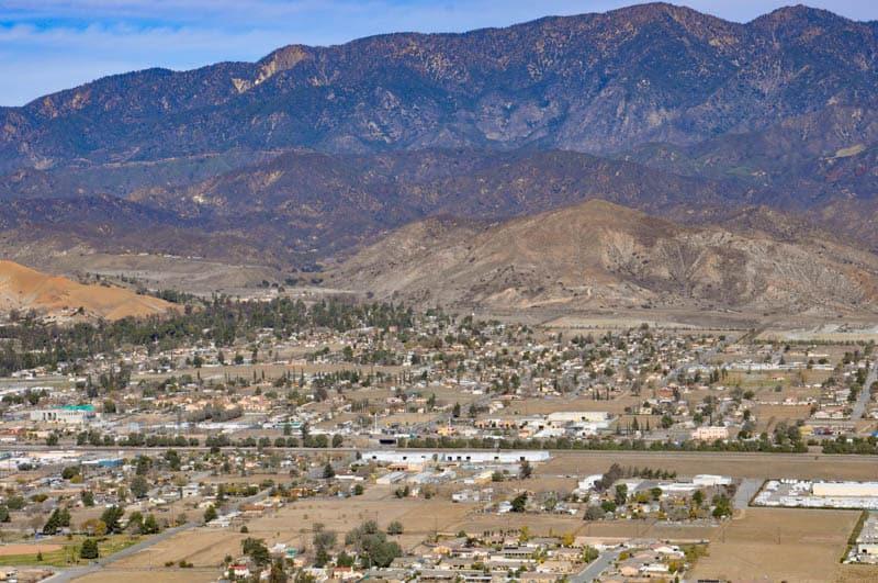 Coachella Valley Vista Point Palm Desert California