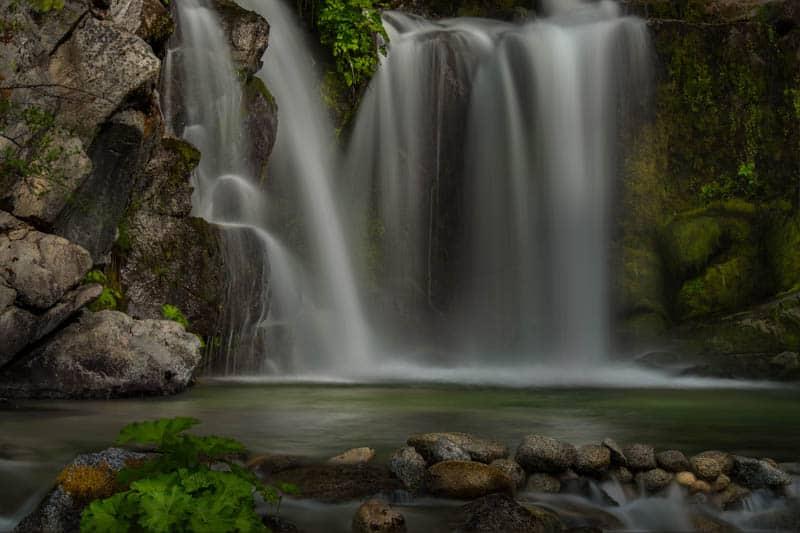 Crystal Creek Falls Whiskeytown National Recreation Area California
