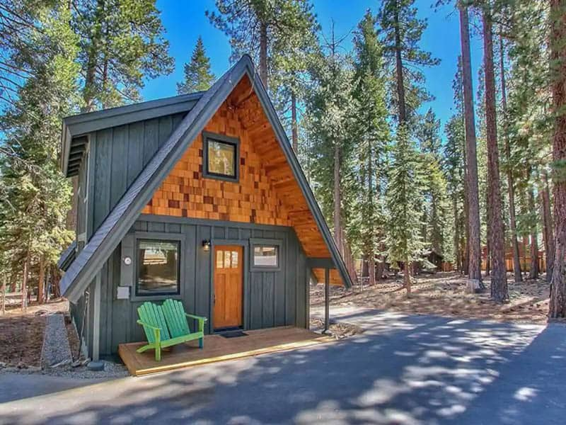 A-Frame Tahoe Airbnb
