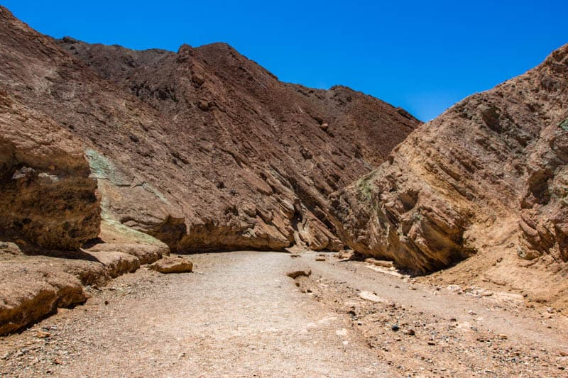 Desolation Canyon Death Valley California