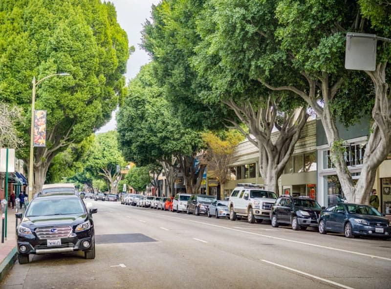 Street in Downtown San Luis Obispo California