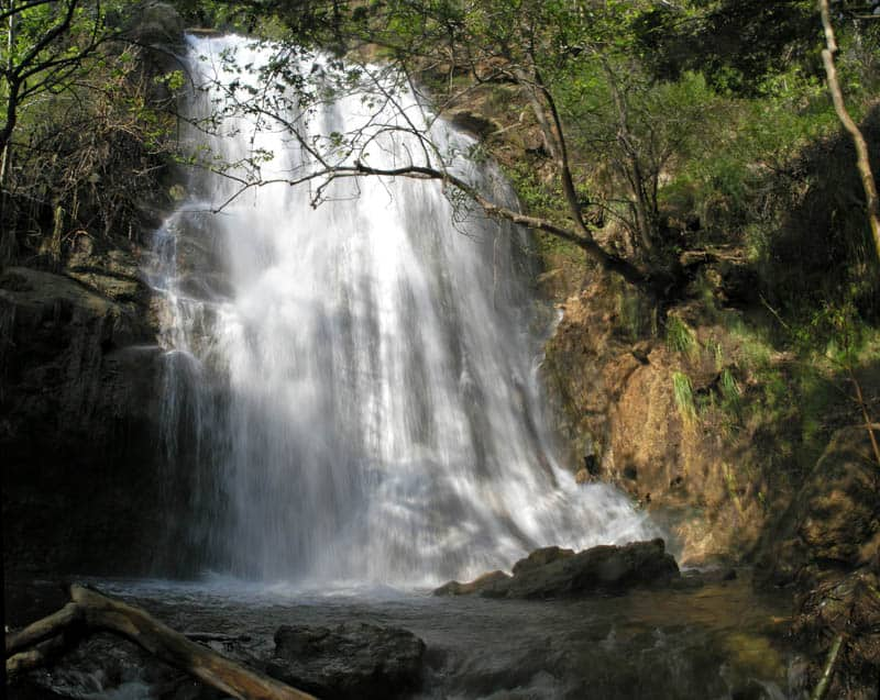 Escondido Falls is one of the best falls in Southern California