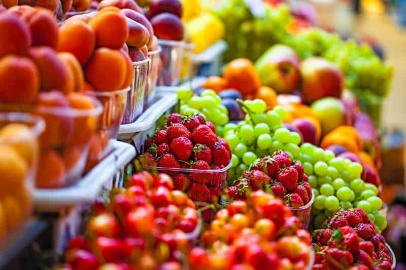 Fruit at farmers' Market