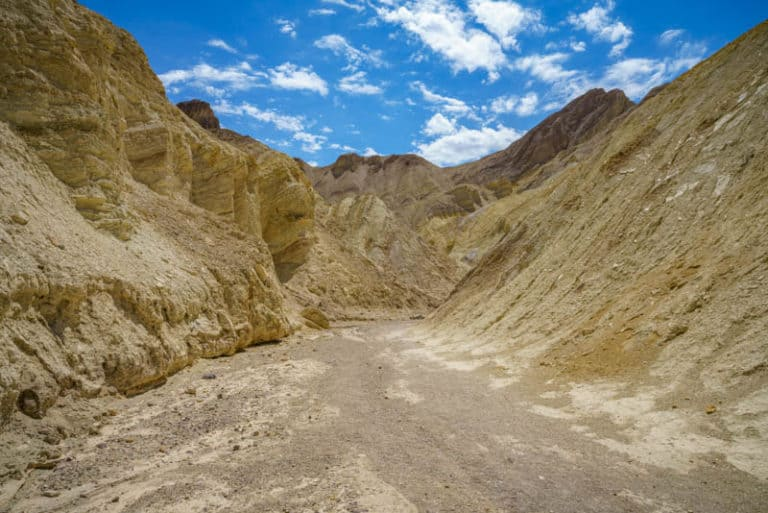 Golden Canyon is one of the best hikes in Death Valley National Park California