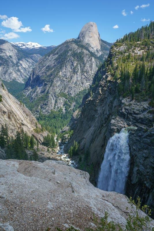 Illilouette Fall Yosemite National Park California