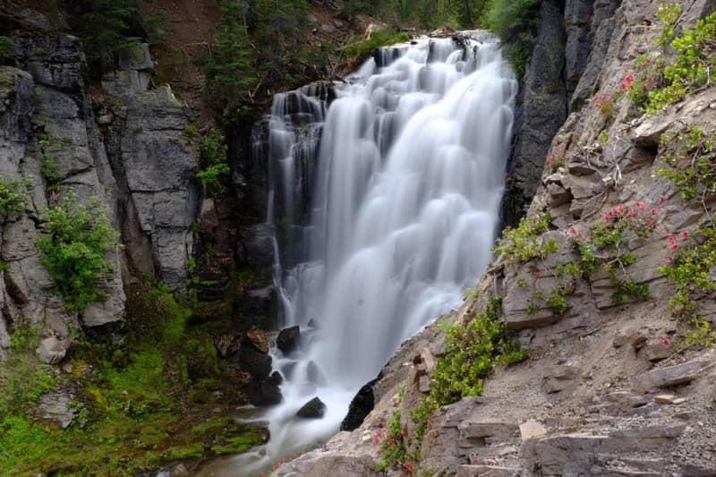 Kings Creek Falls Lassen Volcanic National Park