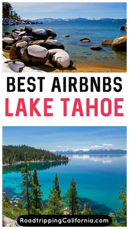 Discover the best Airbnbs in Lake Tahoe, from cozy cabins to cute condos! Best Lake Tahoe Airbnbs | Best Airbnb in Lake Tahoe | Airbnbs in South Lake Tahoe | Where to stay in Lake Tahoe