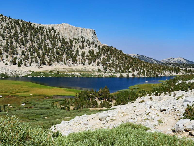 Long Lake in the Eastern Sierra