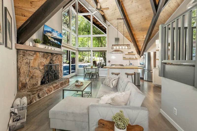 Luxury Tahoe A-Frame Airbnb