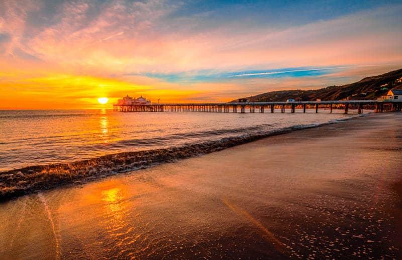 The pier in Malibu California
