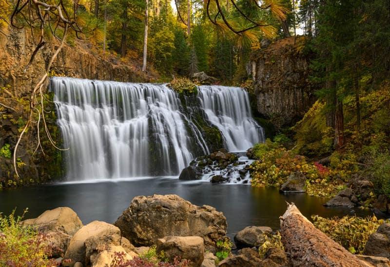 Upper McCloud Falls McCloud California