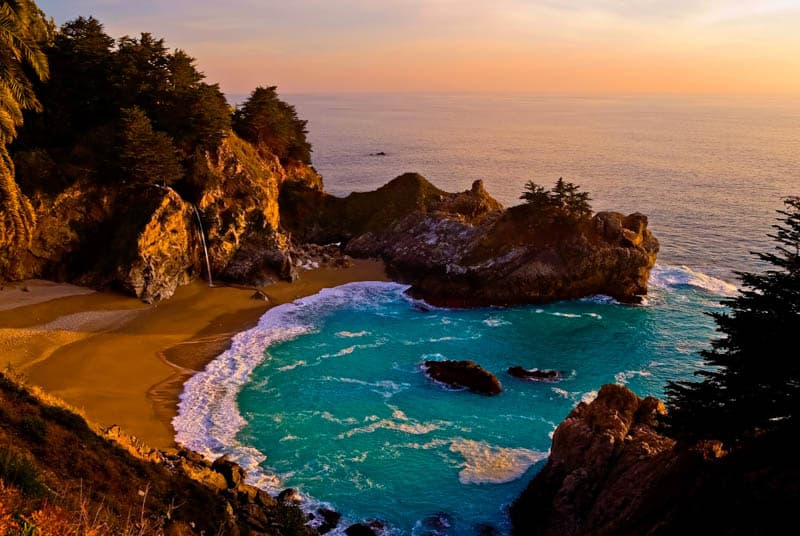 McWay Falls is one of the best waterfalls in California!