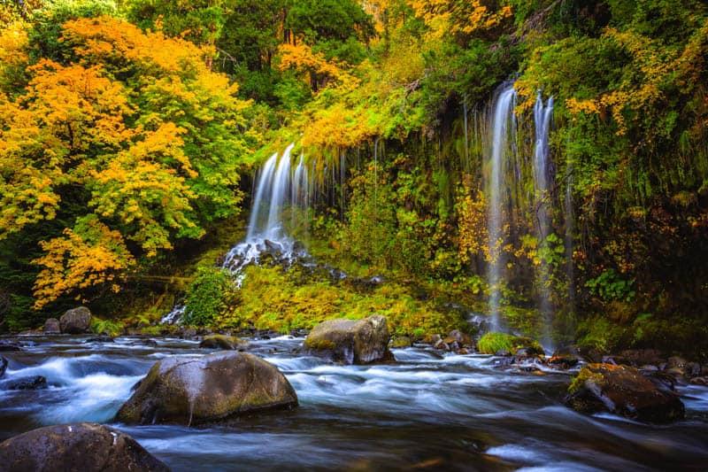 Mossbrae Falls Dunsmuir California