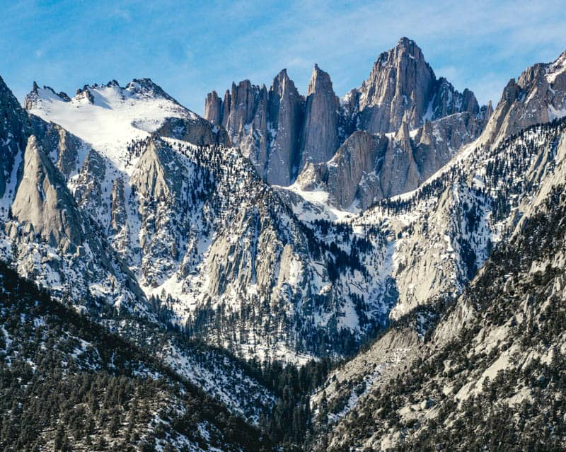 Summiting Mount Whitney is one of many things to do in Lone Pine, CA