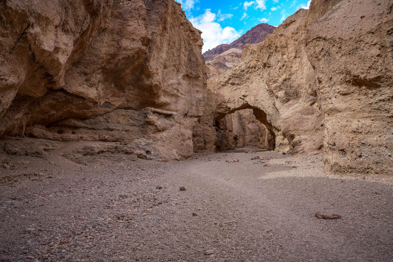 Natural Bridge Trail Death Valley California