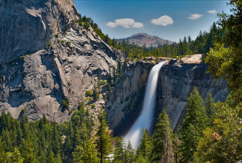 Nevada Fall Yosemite National Park California