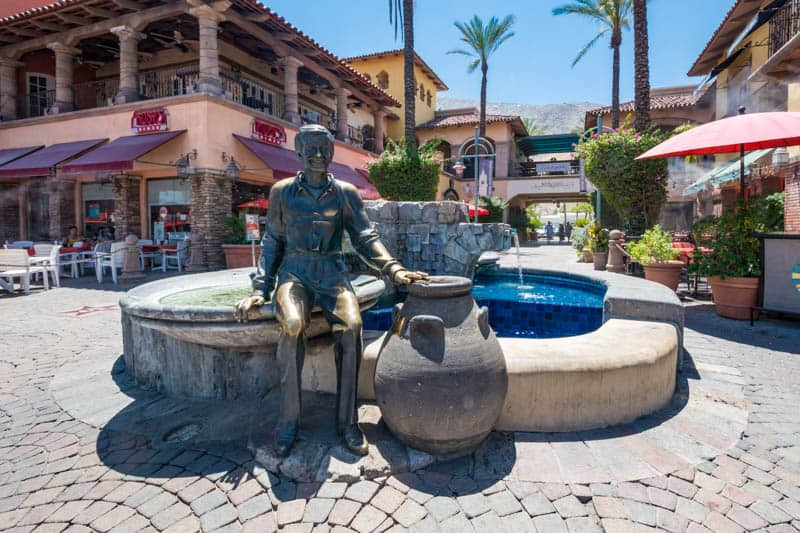 Palm Canyon Boulevard in Palm Springs California