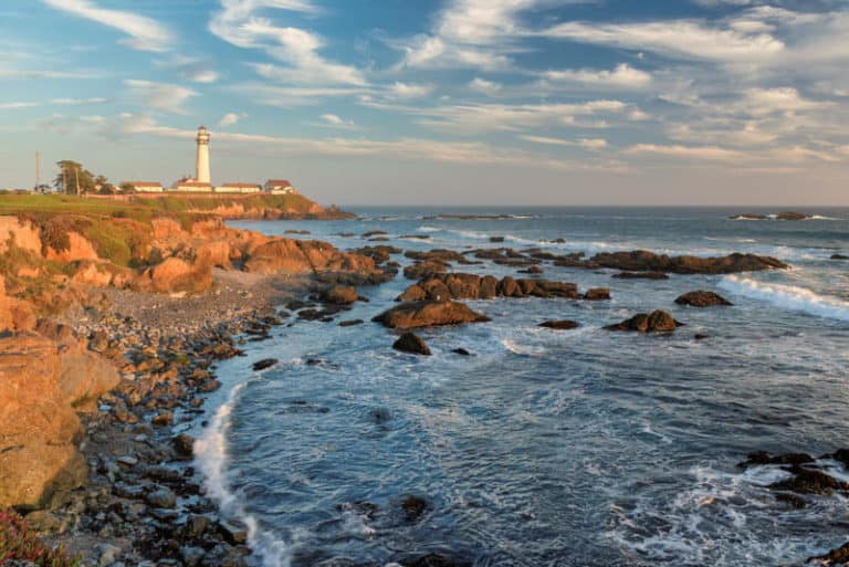 Pigeon Point Light Station State Historic Park is one of the must-visit state parks near San Francisco, California