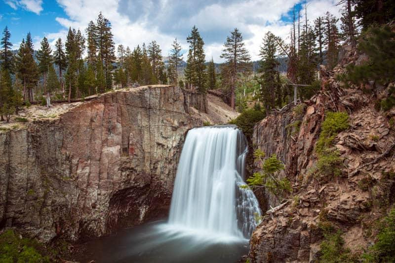Rainbow Falls Mammoth Lakes California