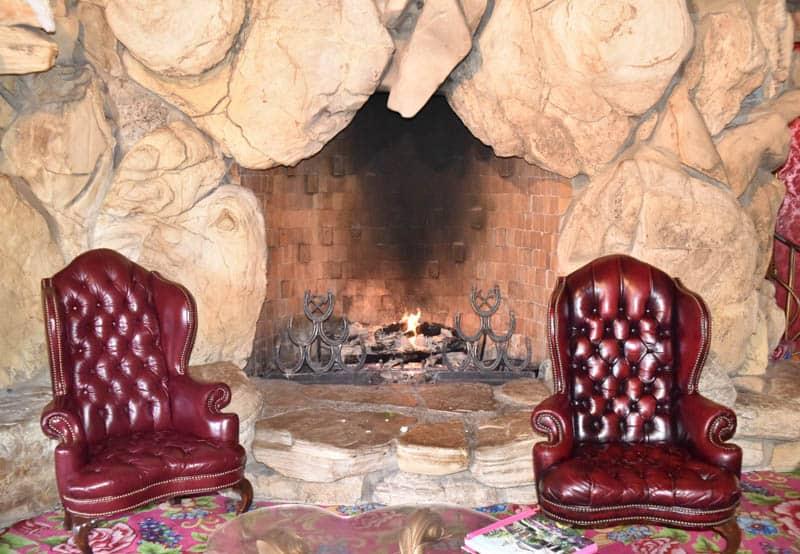 Rock Fireplace Madonna Inn San Luis Obispo California