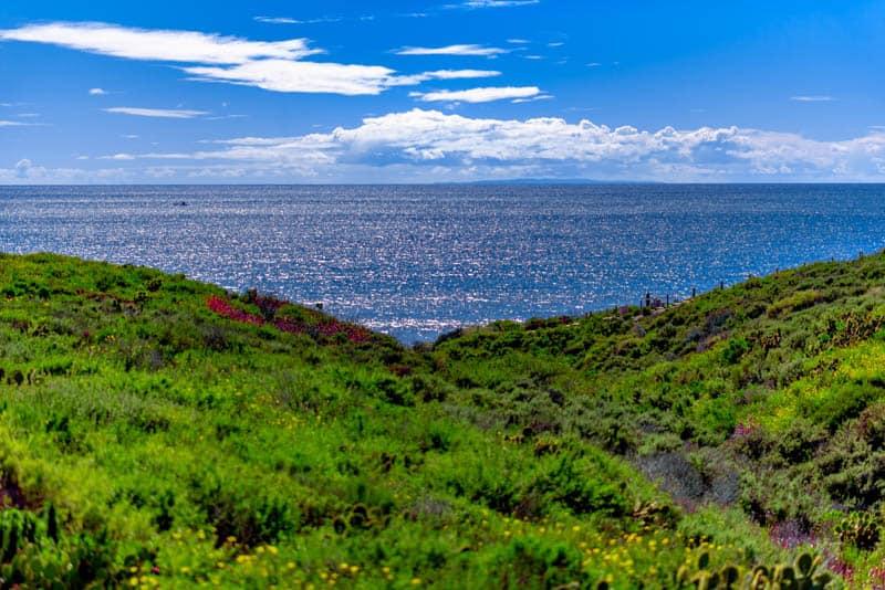 San Clemente California: View from Coastal Trail