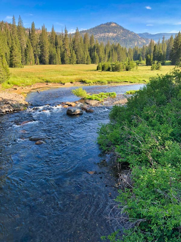 Middle Fork of the San Joaquin River California