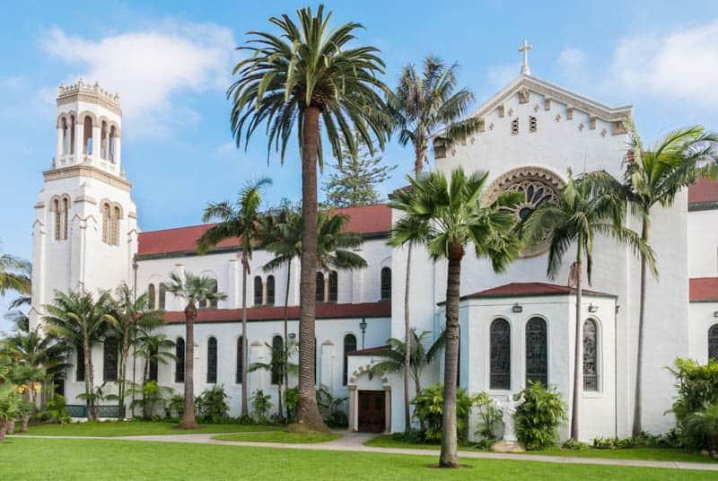 Santa Barbara County Courthouse in California