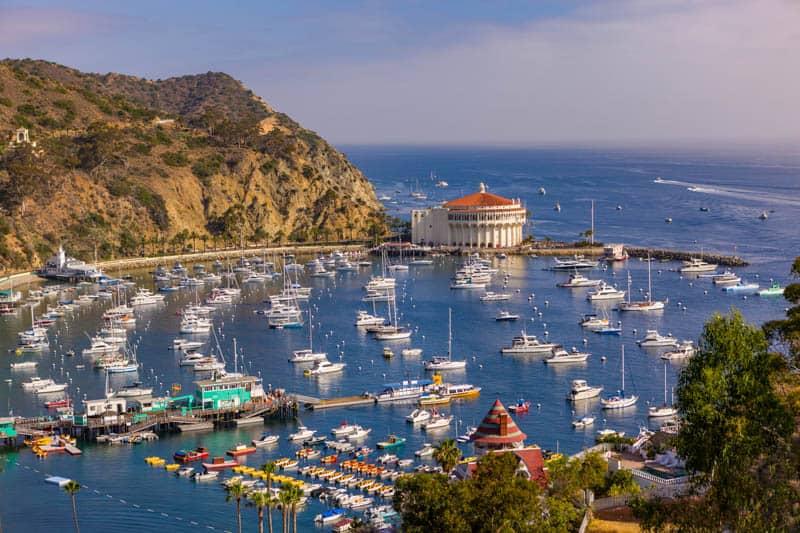 Santa Catalina Island is super romantic!