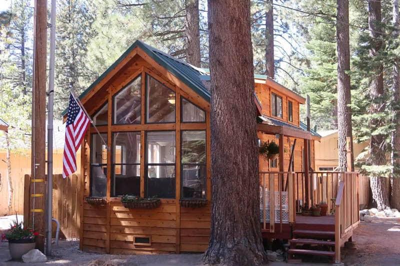 Sugar Pine Cabin Airbnb Lake Tahoe
