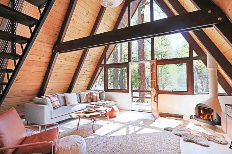 Mid-Century Cabin Tahoe Airbnb