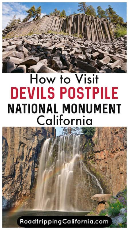 Discover the best things to do at Devils Postpile national Monument at Mammoth Lakes in California. Plus tips for visiting and best time to go.
