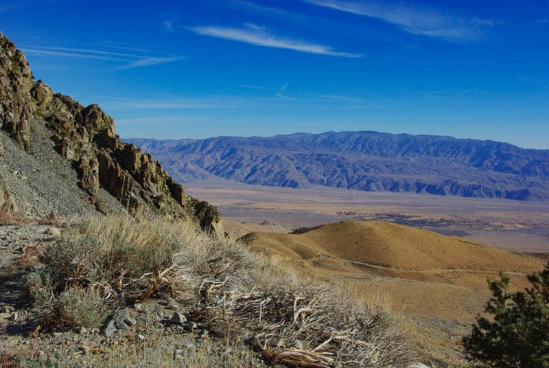 View from Onion Valley Road near Lone Pine California