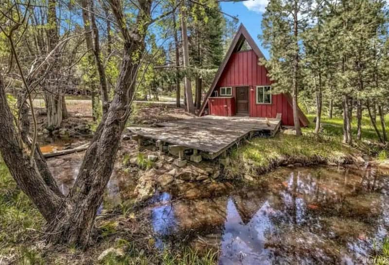 South Lake Tahoe A-Frame Cabin Airbnb