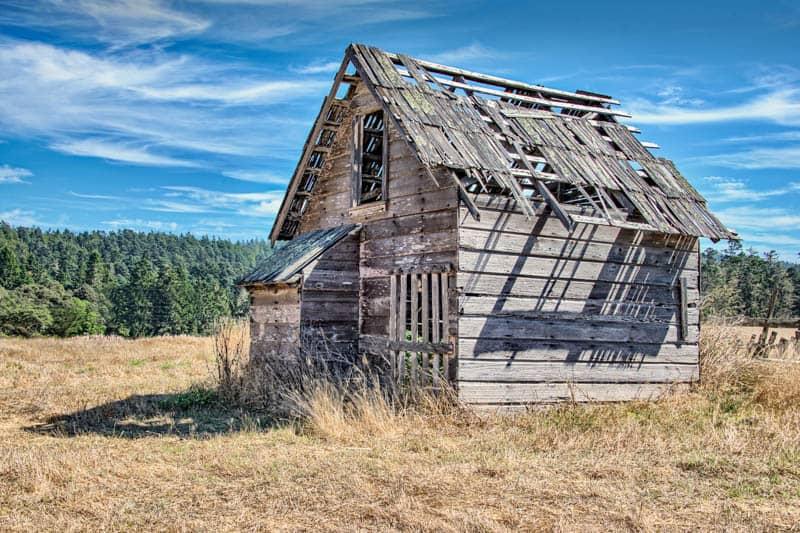 Barn in Mendocino County California