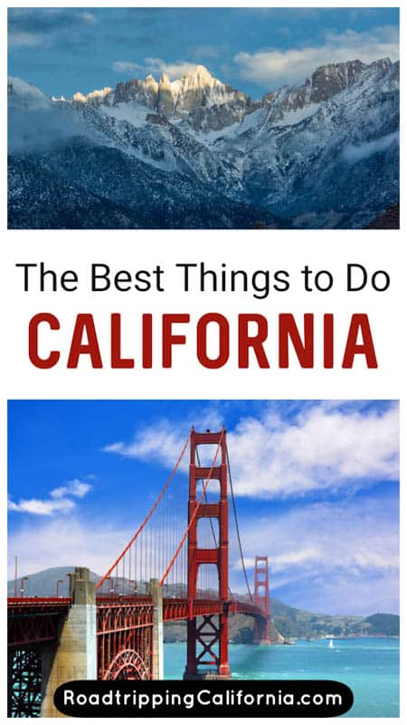 Discover the best things to do in California! From natural wonders to towns and cities, discover the best of the Golden State and build your California bucket list!