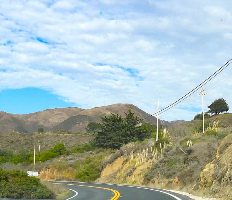California Highway 1 at Garrapata State Park