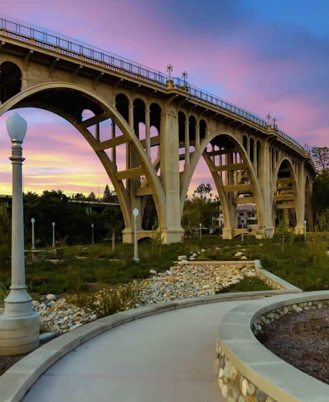 Colorado Street Bridge in Pasadena California
