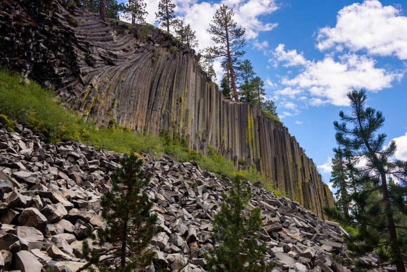 Devils Postpile National Monument California