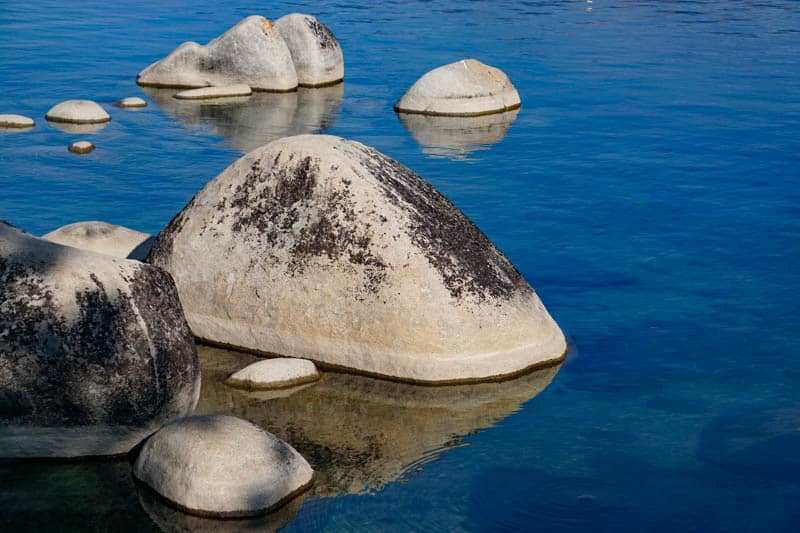 Boulders at Lake Tahoe